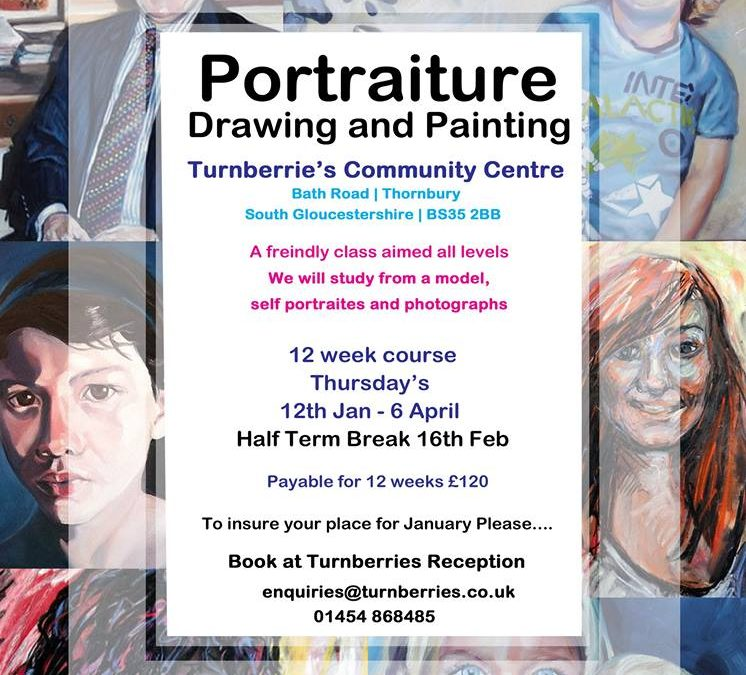 NEW to Turnberrie's – Portraiture Drawing and Painting