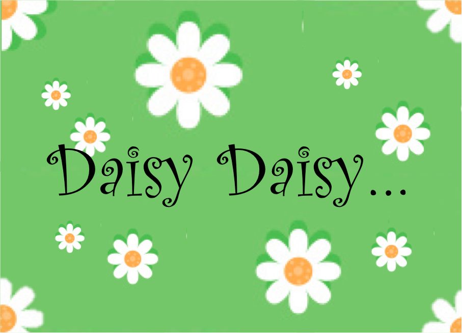 DAISY DAISY SATURDAY SALE!!!