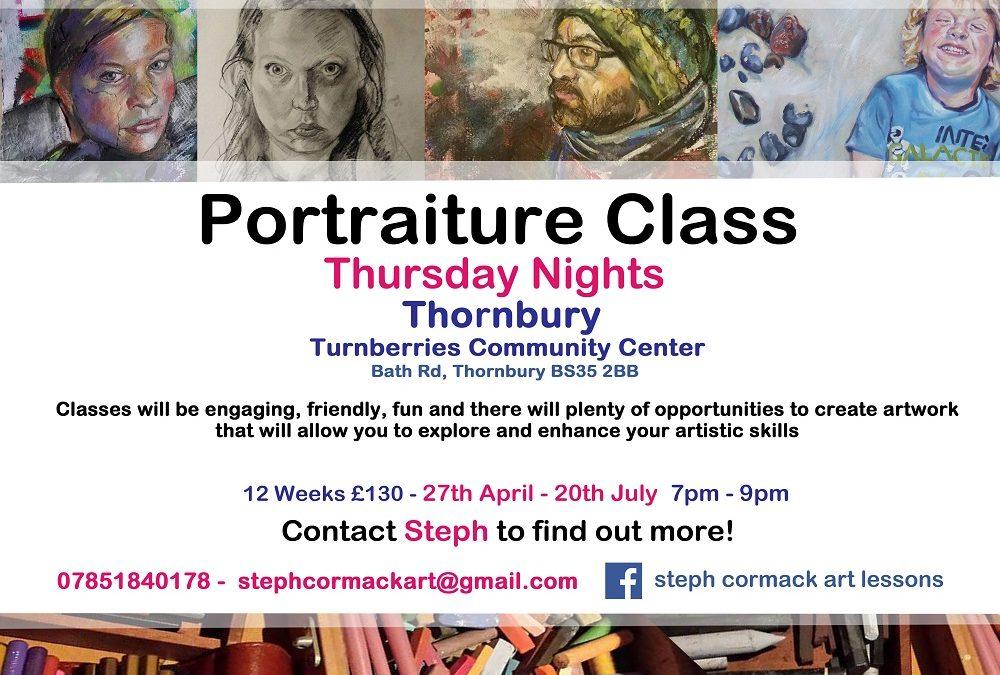 PORTRAITURE CLASS ~ THURSDAY NIGHTS CLASS