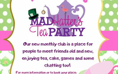 NEW MONTHLY TEA CLUB