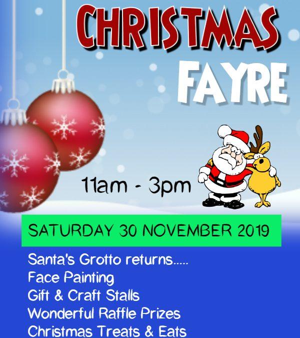Christmas Fayre Returns